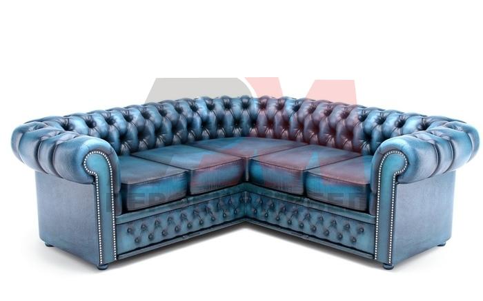 кожена мека мебел честърфийлд смайваща