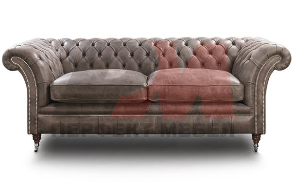 кожена мека мебел честърфийлд топкласна