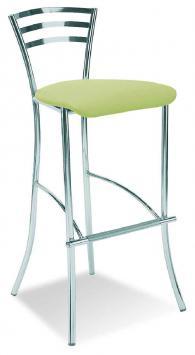Бар стол MOLINO hocker chrome plus