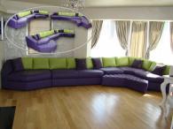 Луксозен стилен диван по индивидуален проект