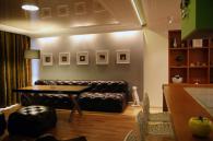Модерен кожен диван по индивидуален проект