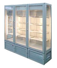 Тройна хладилна витрина