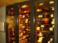 Хладилни витрина за вино