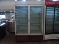 Професионална вертикална витрина втора употреба