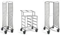 Метални колички за сервиране