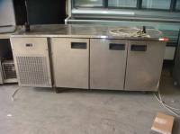 Хладилна маса с 3 врати втора употреба