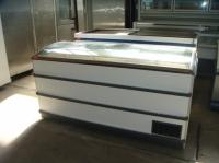 Хоризонтален фризер със стъклен капак 173х76х90 см