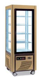 Сладкарска витрина с въртящи се рафтове