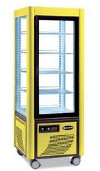 Сладкарска витрина в жълто