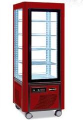 Сладкарска витрина цвят червено