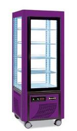 Сладкарска витрина цвят лилаво