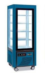 Сладкарска витрина цвят синьо