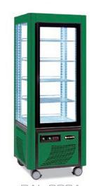 Сладкарска витрина цвят зелен