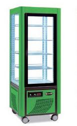 Сладкарска витрина цвят светлозелен