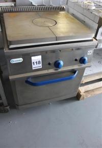 Газова печка с фурна 70*70*90 см