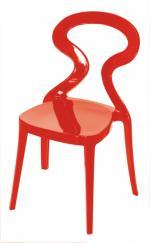Червен модерен стол
