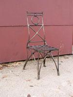 по-поръчка Градински стол произведен от ковано желязо София